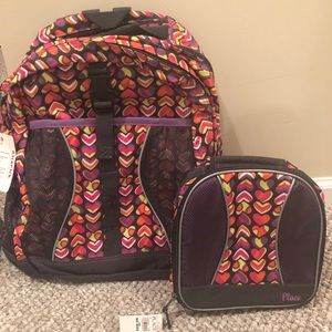 NWT Children's place backpack and lunchbox